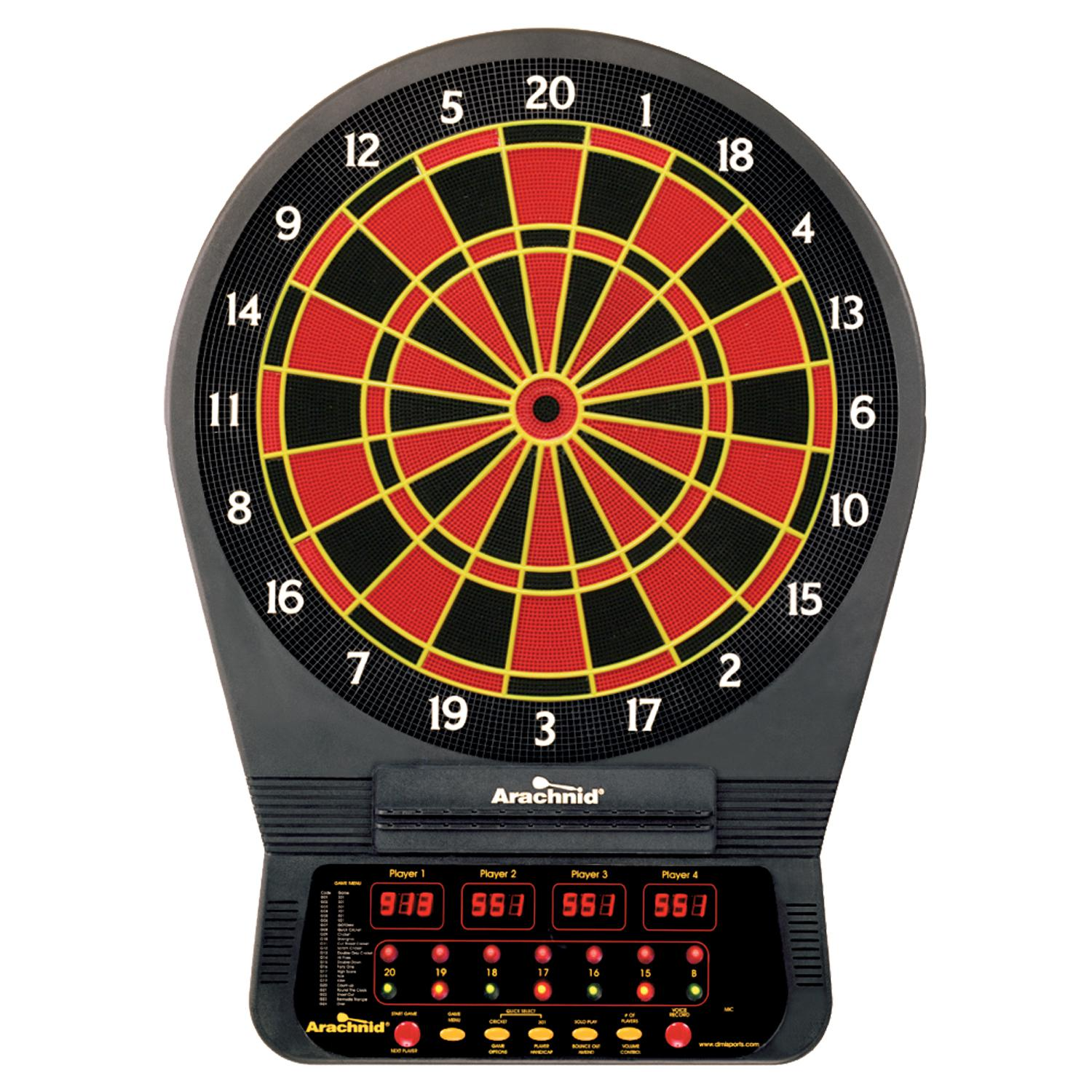 Arachnid Cricket Pro 650 Electronic Dart Game : darts.com