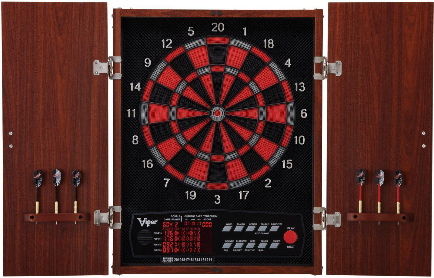 viper cat neptune electronic board and cabinet darts