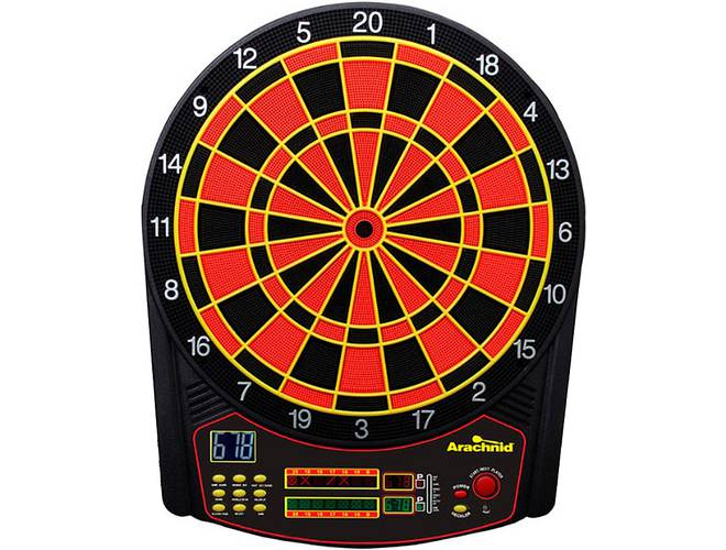 Arachnid Cricket Pro 450 Talking Electronic Game Darts Com